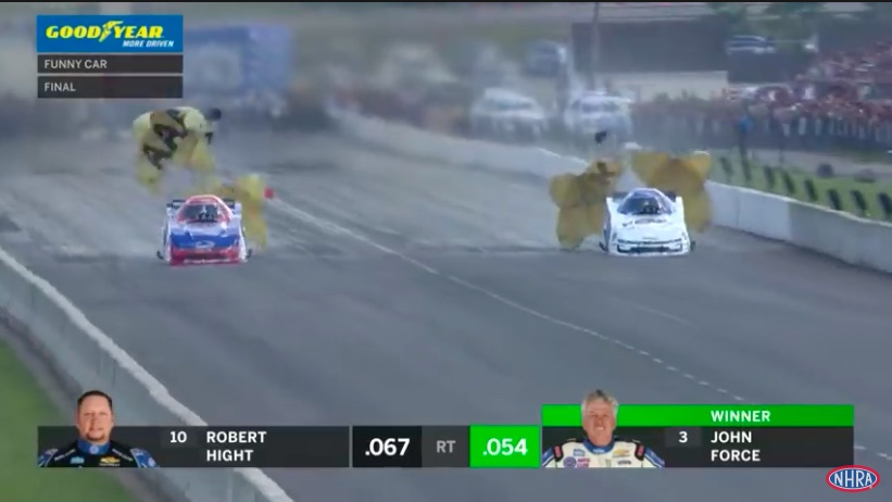 Final Round Video: Watch John Force, Billy Torrence, and Aaron Stanfield Win At Epping!