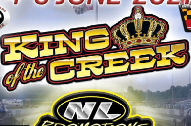 FREE LIVE DRAG RACING: It's The Final Day Of King Of The Creek Drag Racing Action!