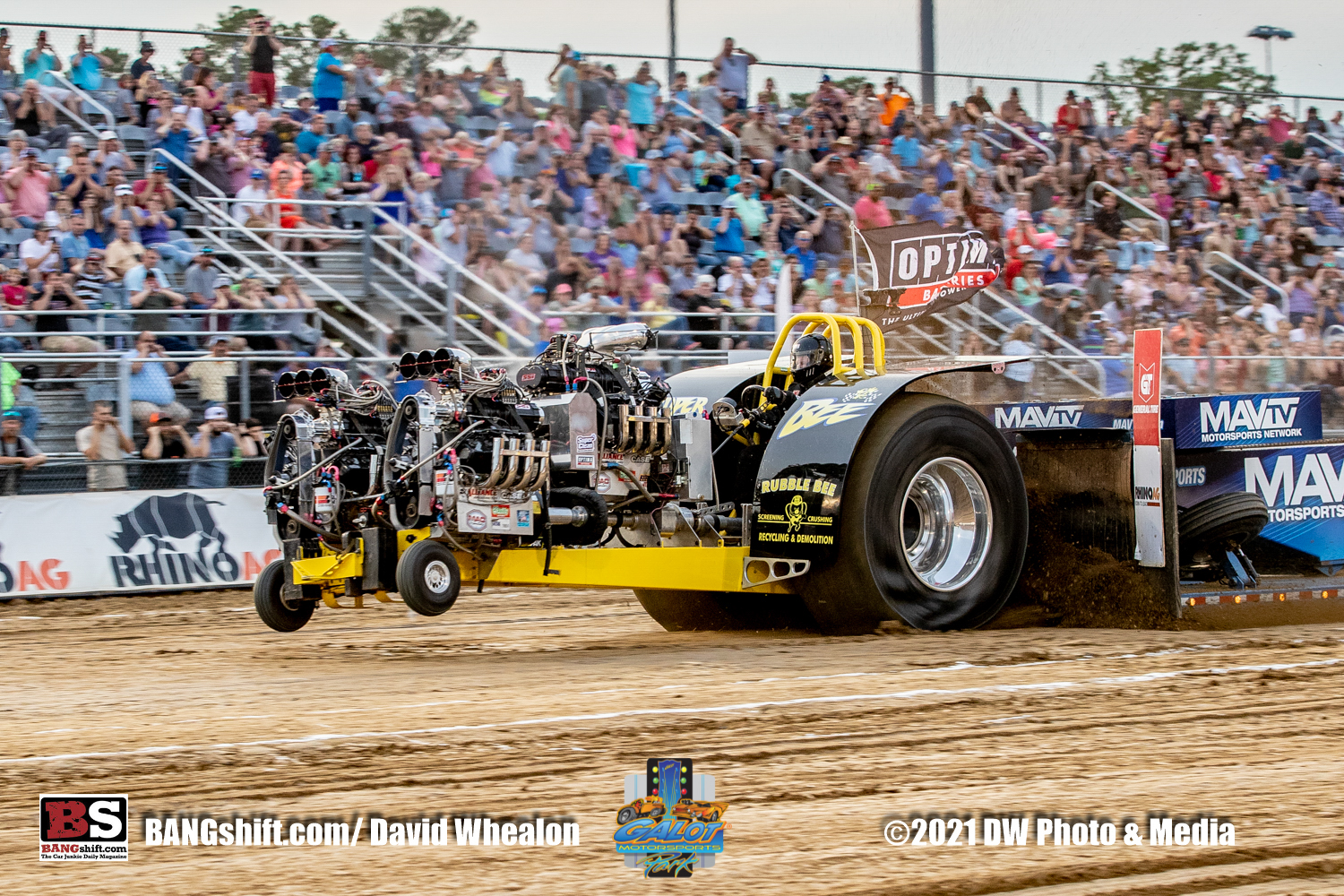Lucas Oil Pro Pulling League Action Photos: Horsepower, Torque, and Competiton At GALOT Motorsports Park