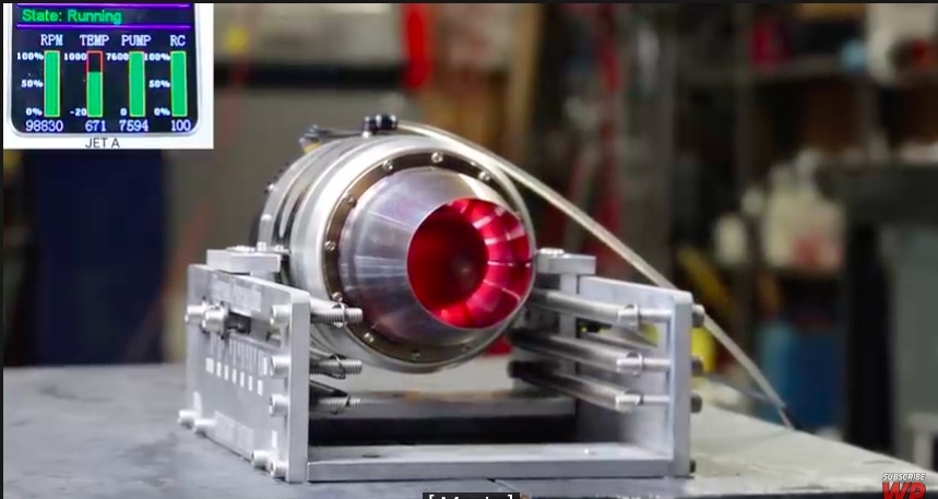 Crazy Dyno Test: Watch This RC Jet Engine Get Tested On Four Fuels Using A Fabricated Thrust Dyno!