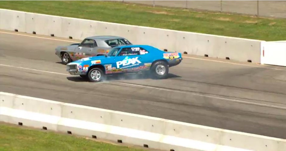 Power Slide: Watch Thomas Fletcher Spin The Family 1969 Camaro At Epping And Hit NOTHING