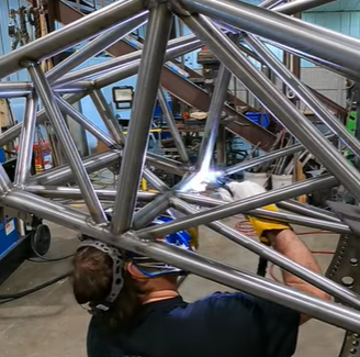 Alex Taylor's Quest For The Sixes 1955 Chevrolet Project Details Keep Coming: Welding The Chassis