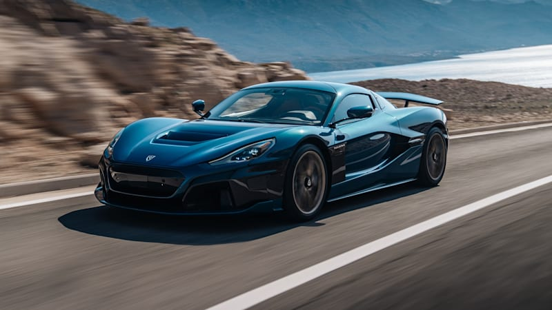 Silent Scorcher: The Rimac Nevera Is An Electric HyperCar Packing Nearly 2,000hp