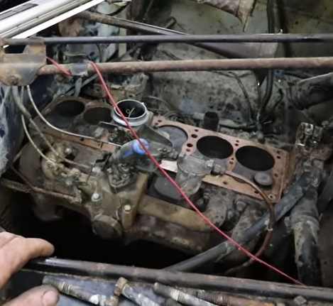 Barn Find Startup: Here's What Happens When A Car Guy Just Can't Stop Himself From Getting Something Old Running