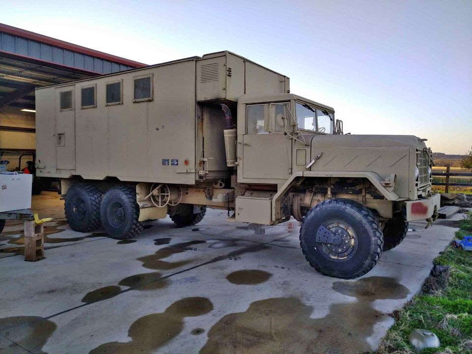 This 1992 AM General M934A2 Would Make An Epic Off-Road Camper