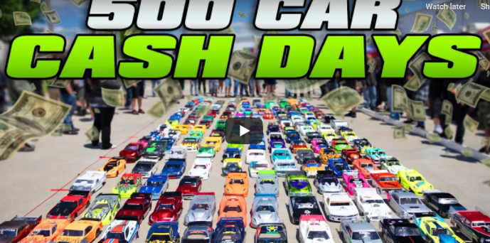 $25,000 To Win RC Drag Racing! The Worlds Largest RC Car Cash Days And 1320Video Got It All.