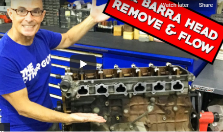 HOW TO: 4.0L BARRA-DISASSEMBLY AND HEAD FLOW TEST Richard Holdeners First Barra Build!