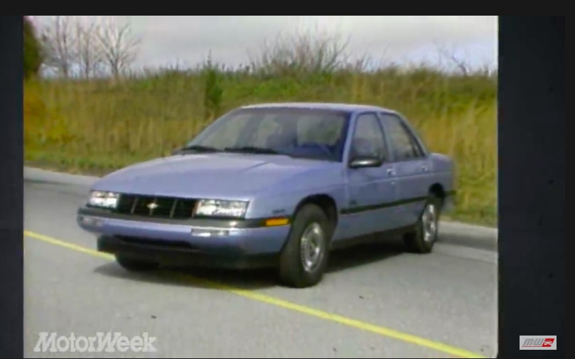 Small Progress: The 1987 Chevy Corsica Was A Step Forward For GM But Not A Game Changer