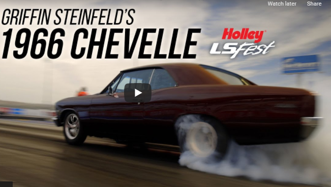 Griffin Steinfeld's, Slick, Twin-Turbocharged, LS-Swapped 1966 Chevelle Is Show Car Beautiful And A Legit 8 Second Street Car