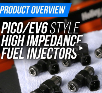 New Products: Terminator X High Impedance-Fuel Injectors in Multiple Flow Rates