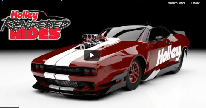 Holley Rendered Rides: Should Funny Car Bodies Return to their Showroom Inspired Roots?