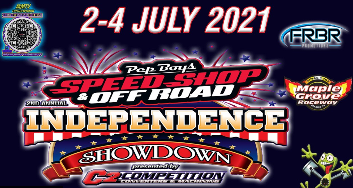 FREE LIVE DRAG RACING: The 2nd Annual Independence Showdown From Maple Grove Is LIVE!