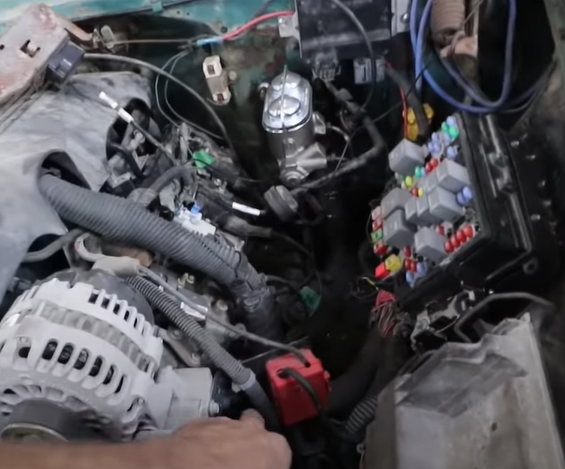 Low Buck 1956 Chevy LS Swap Part 4: Easy Fuel System, Simple Brake Upgrades, Trans Cooler And First Fire Up!