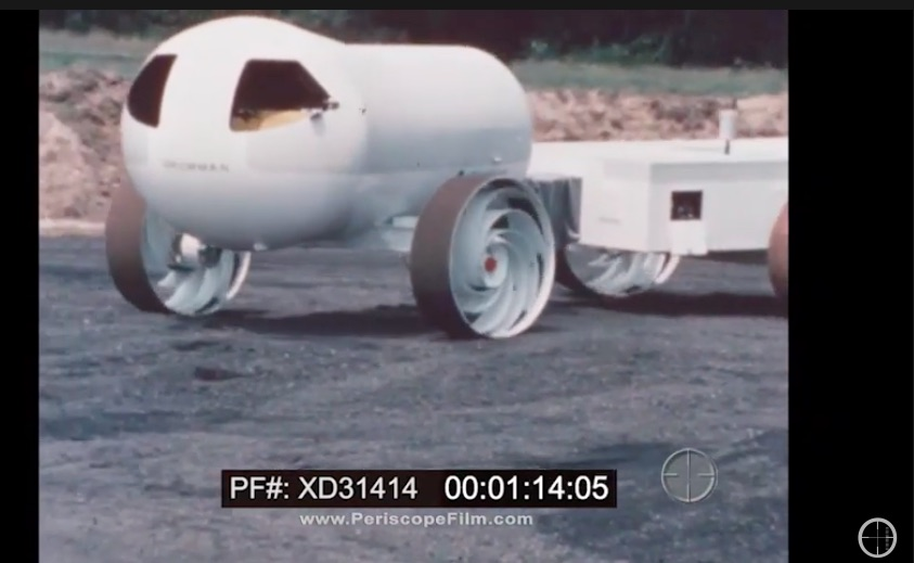 Apollo Video: Check Out This Neat 1960s Footage Of The Grumman Lunar Rover Prototype – Weinermobile In Space?