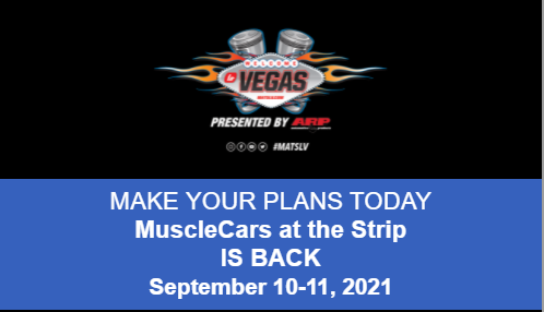 Muscle Cars At The Strip Is On! Get Your Tickets, Hotels, And Time Ready For September In Las Vegas!