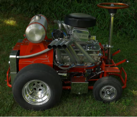 Is The Ultimate Pit Vehicle A V8 Powered Barstool? Why Is This Both Scary And Exciting?