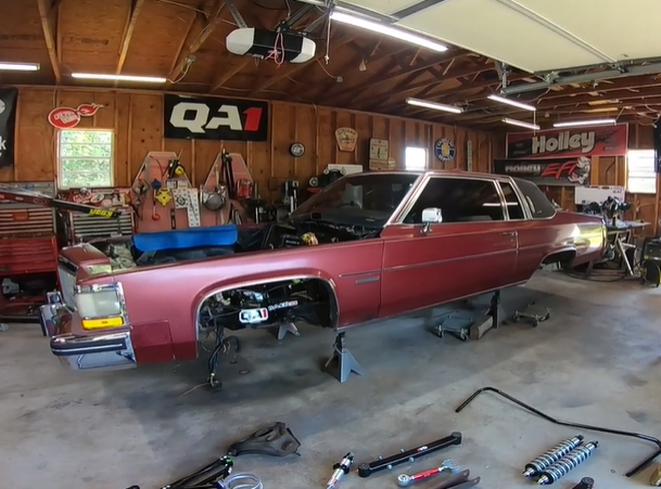 Pro-Touring LS Swapped Cadillac Coupe Deville- Introducing The Chicken Coupe, A Project That Excites Me To No End.