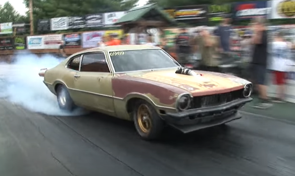 What In The Wide Wide World Of Sports Is Going On Here? A Ford Engine, With A Turbo, In A Maverick? LS Fans Will Riot!