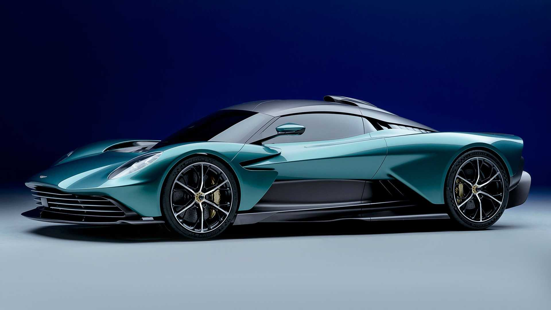 Lean, Mean, and Green: The Aston Martin Valhalla Is Your Latest 900+ Horsepower, $800,000 Rocket