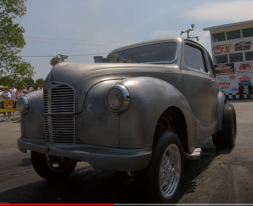 Gasser Spotlight: This 1948 Austin Gasser is a Stack-Injected Big-Block-Powered Monster in a Miniature Package
