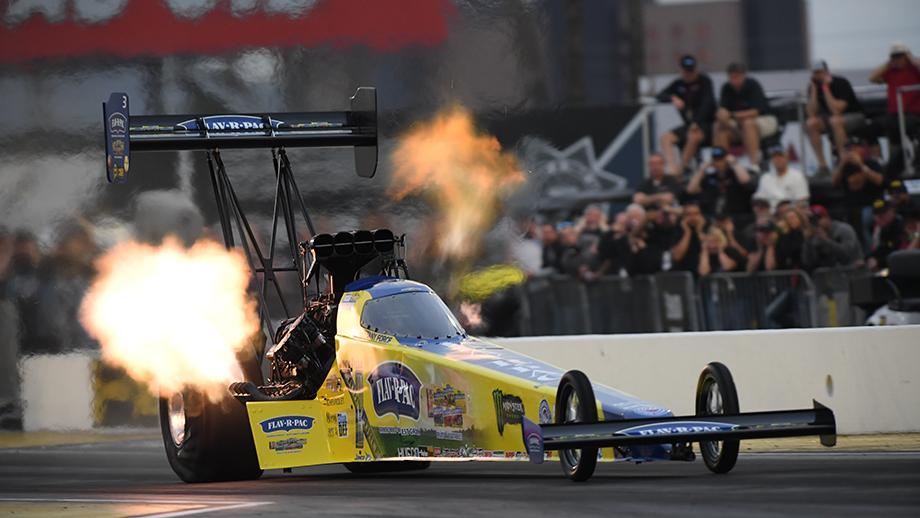 CAPPS, B. FORCE, ANDERSON AND M. SMITH ALL QUALIFY NO. 1 AT LUCAS OIL NHRA WINTERNATIONALS: Will They Own The Weekend?