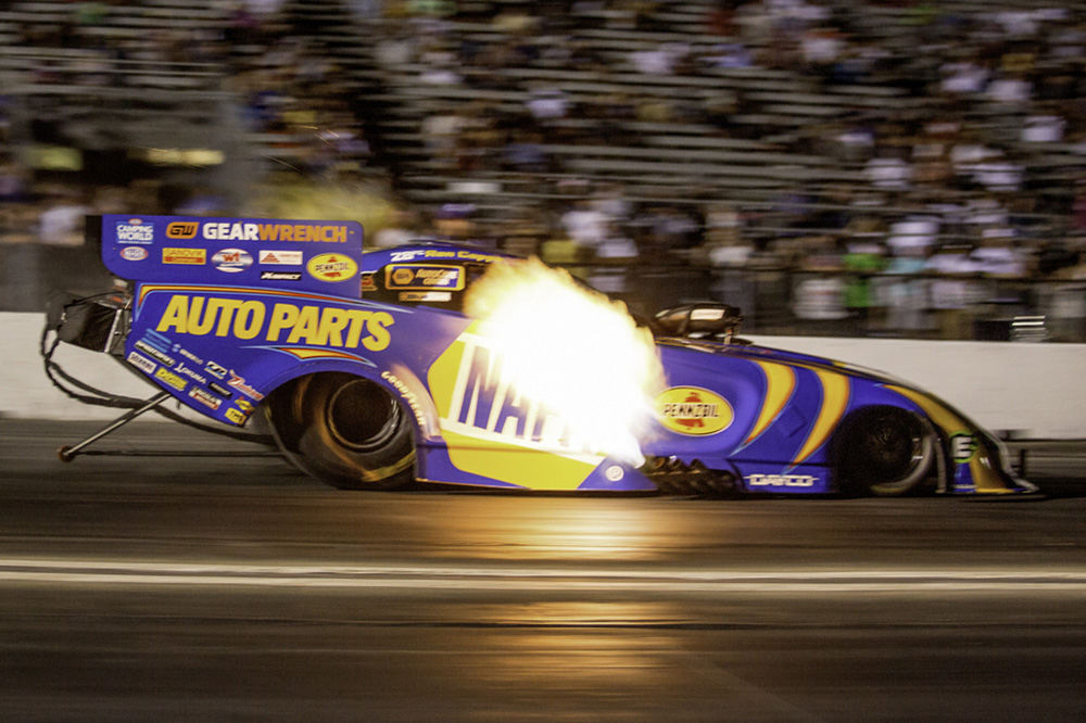 Ron Capps, Leah Pruett, Greg Stanfield And Matt Smith Close Out Hot Racing Action At Too Hot Pomona Winternationals!