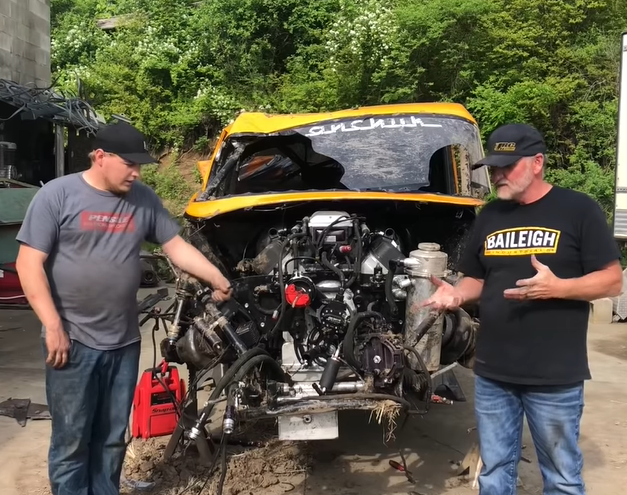 After The Crash: Jeff Lutz '57 Chevrolet Gets Torn Down, And The Rebuild Begins