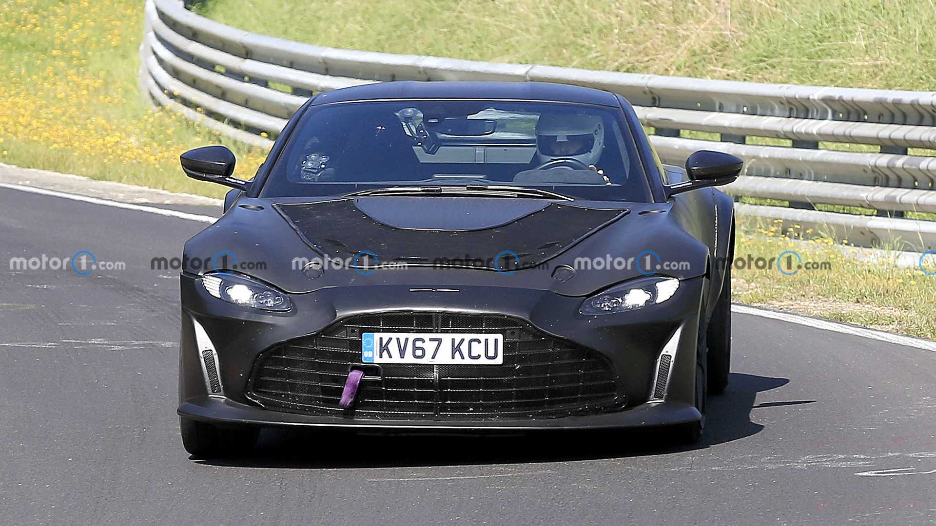 Suck It EVs: Aston Martin Is Rolling A Twin Turbo V12 Into the Vantage – Fresh Engine, Cool Car