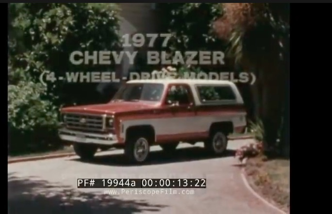 Hip To Be Square: This 1977 Chevy Promotional Film For The K5 Blazer Has It All, Even The Blazer Chalet!
