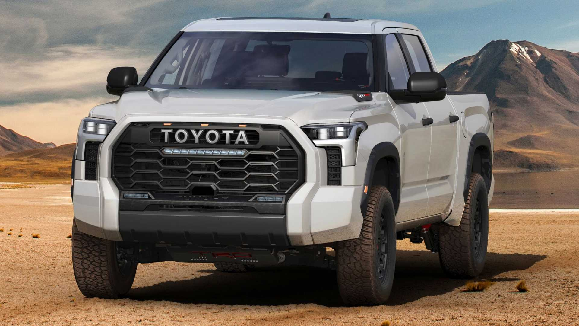 No V8: Toyota Has Released The Data On The New Tundra And You Can't Buy Eight Cylinders If You Try
