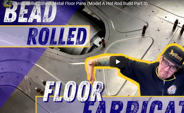 Sheet Metal How To: Bead Rolling Sheet Metal Floor Panels For Your Hot Rod, Race Car, Or Truck