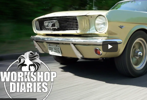 Edd China's Workshop Diaries: Edd Is Working On A Super Clean 1966 Mustang That Got To England Through California