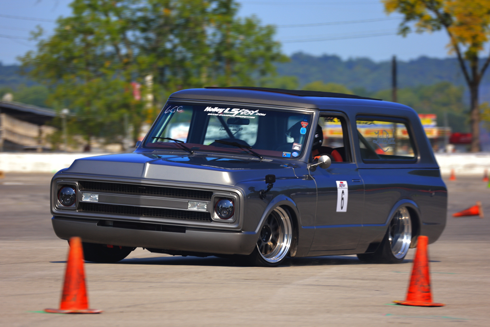 LSFest 2021 Photos: Here's Our First Gallery Of Pro Touring Machines On The Autocross At LSFest!