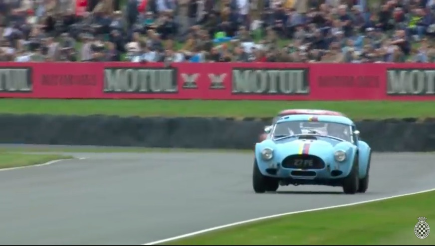 Spring Little Cobra: Watch Former F1 Star Jenson Button Carve Through The Field At Goodwood In A Mighty Cobra