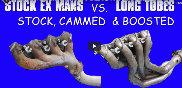 HOW MUCH POWER ARE LONG-TUBE HEADERS REALLY WQRTH? JUNKYARD 6.0L LS HEADER TEST!