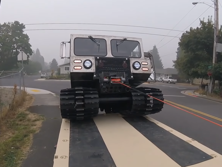 Army Truck Trailer Build: Bearings, Tires, Boxes, Mats, And Tie Downs, Plus Loading The First Tracked Vehicle On The 7 Ton M1083A1 Trailer Project!