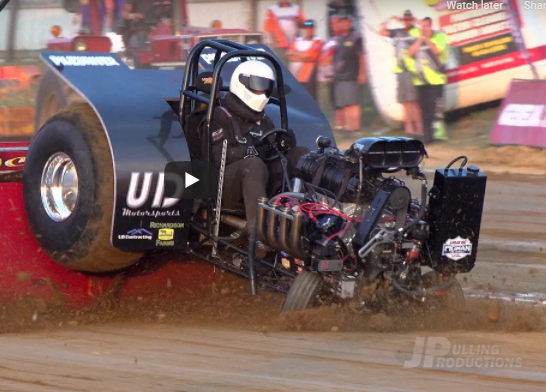 Crazy Tractor Pulling Carnage: Mini Rod Tractor Pullers Giving It Their All, And Then Some!