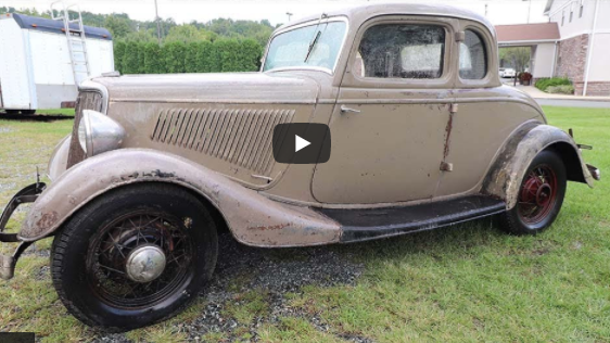 Uncovering Original Paint With Oven Cleaner! This 1934 Ford 5 Window Gets Even Cooler!