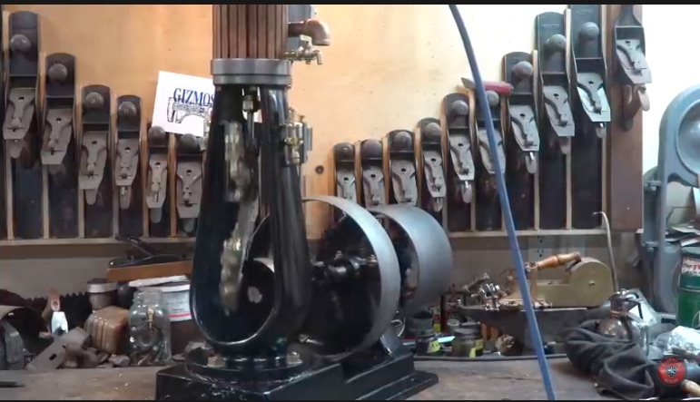 Restoration Video: Seeing The Process of Bringing A Vertical Steam Engine Back Is Mesmerizing