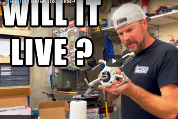 What Do You Do When You Lose A Drone? What If You Find It? Well, Here's What Finnegan Did….