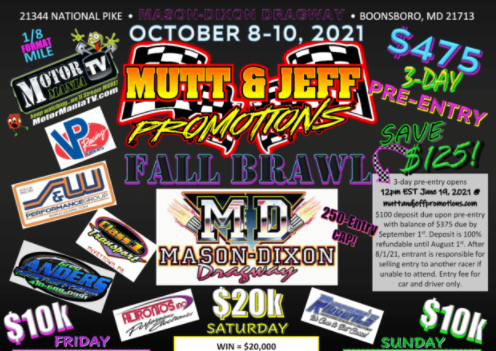 FREE LIVESTREAM: The Mutt And Jeff Fall Brawl Is Going To Make Someone Lots Richer This Weekend!