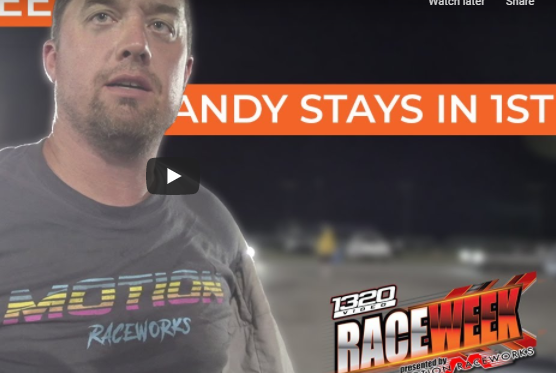 Race Week 2.0 – Day Three – Tulsa, Oklahoma – Andy Doesn't Get The Passes He Wants, But Still Leads!