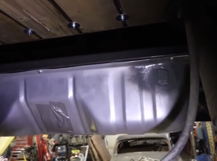 Fuel System Tech: Fuel Tank Upgrade Swap On An S10 Chassis Swapped 1950 Chevrolet Truck