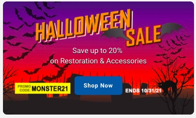 BOO! OPGI Is Running A Halloween Sale – Up To 20% Off The Parts You Want And Need!